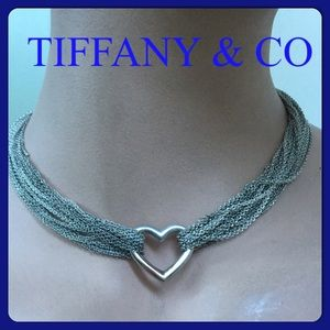 ❤️🔴Authentic Tiffany& Co Chain Heart Necklace 💗